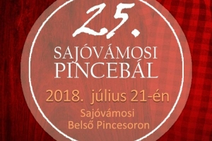 25. Sajóvámosi Pincebál