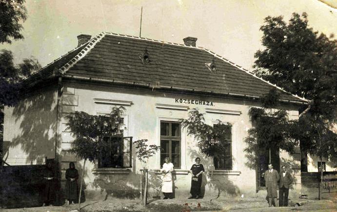 Sajóvámos községháza a régmúltból